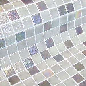 Fosfo Serpens Glass Mosaic Pool Tile