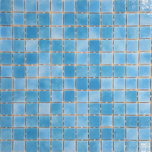AUS Tahiti Glass Mosaic Pool Tile