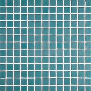 Lisa 2547-A Turquoise Green Glass Mosaic Pool Tile