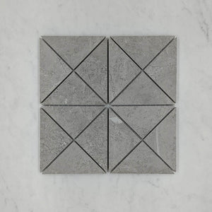 Windmill Med Grey Porcelain Mosaic