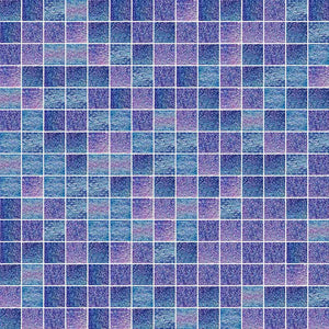 SHINING 732 GLASS MOSAIC POOL TILE