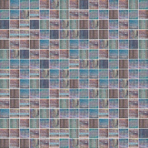 SHINING 838 GLASS MOSAIC POOL TILE