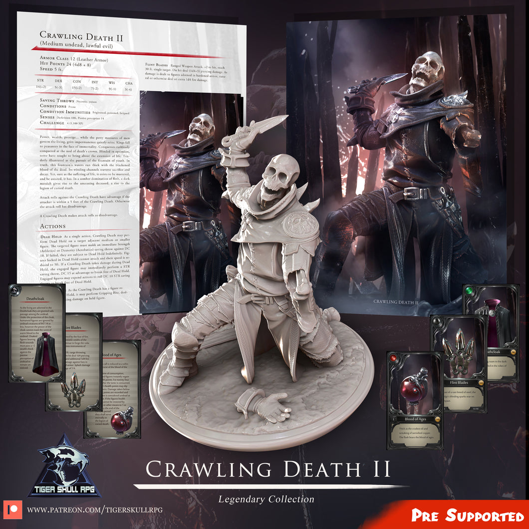 Crawling Death II - Legendary STL Collection