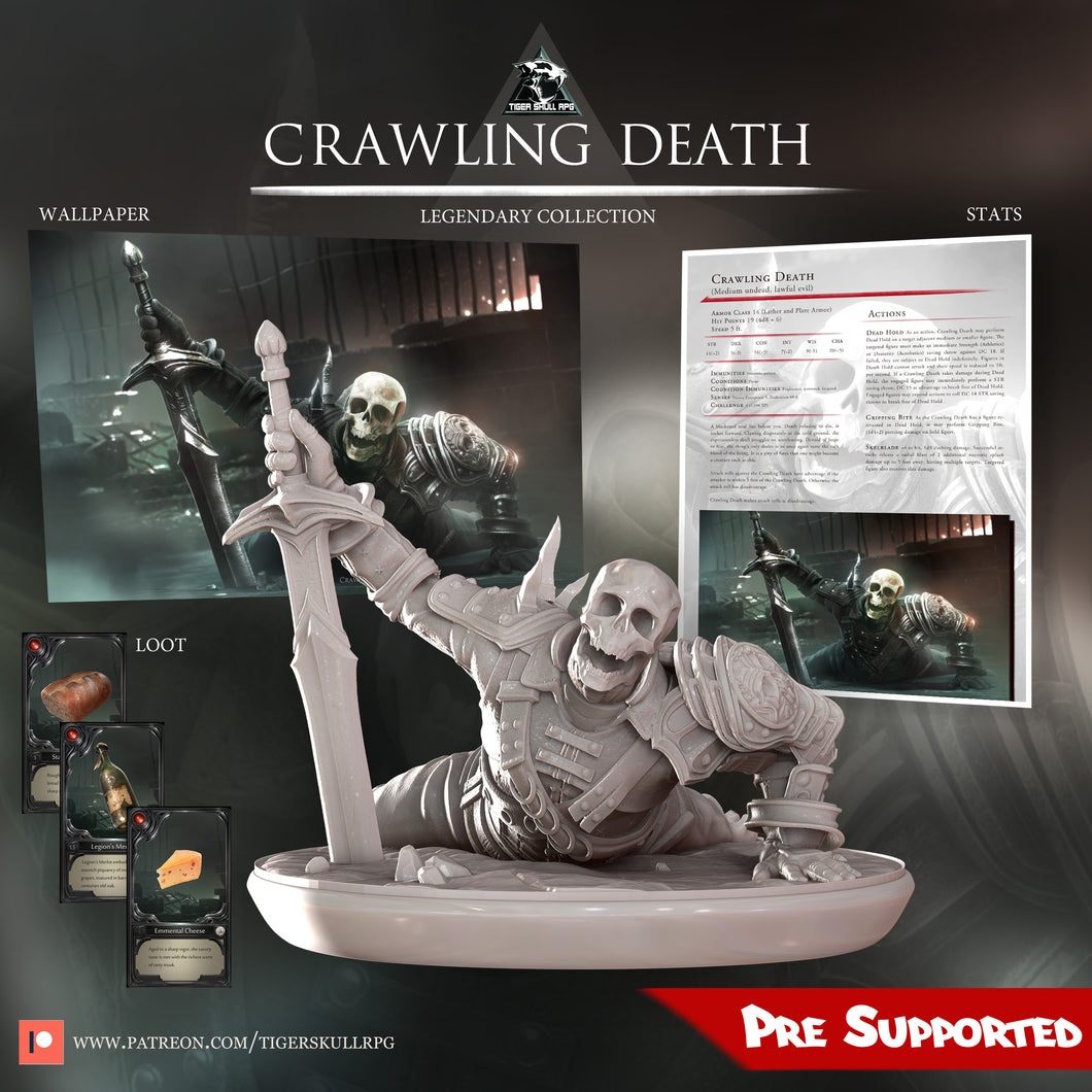 Crawling Death - Legendary STL Collection