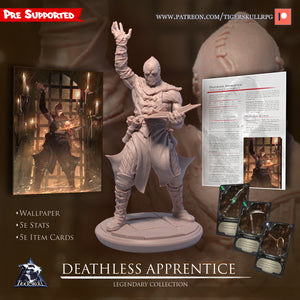 Deathless Apprentice - Legendary STL Collection