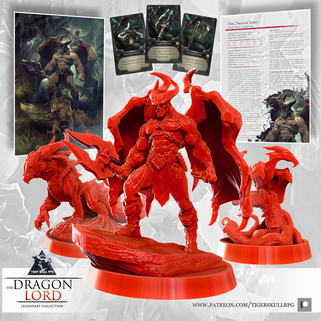 The Dragon Lord - Legendary STL Collection