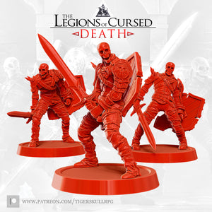 The Legions of Cursed Death STL