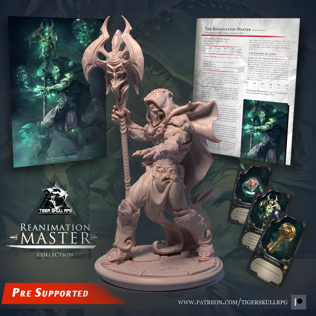Reanimation Master - Legendary STL Collection