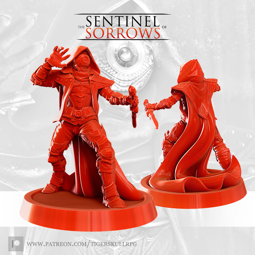 The Sentinel of Sorrows STL