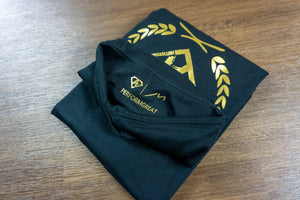 "PRF8™ X Excellence Signature ""A"" Tee (Gold Logo)"