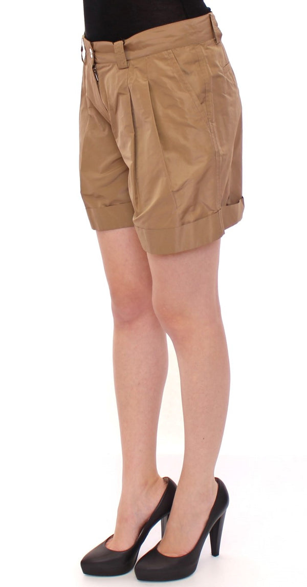 Dolce & Gabbana-Brown chinos shorts pants-Luxuryce