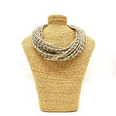 Short Fabric Necklace