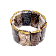 Italian Resin Stretch Bracelet
