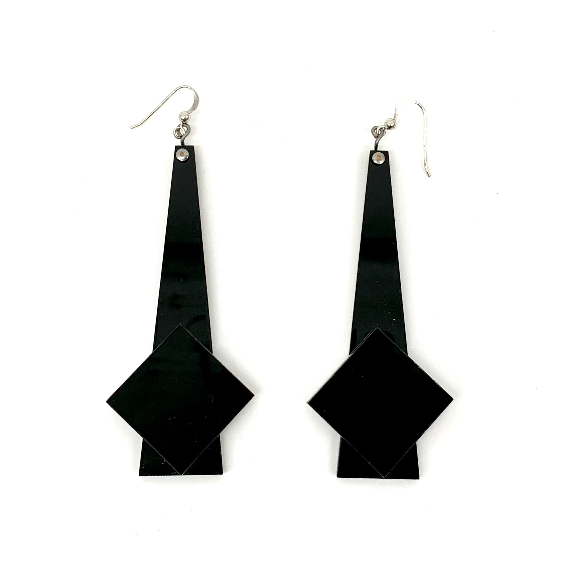 Plexiglass Earrings