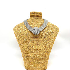 Sparkle Paper knot necklace