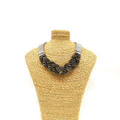 Sparkle Paper Necklace Small Braid