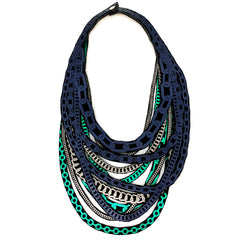 Neoprene Printed Necklace