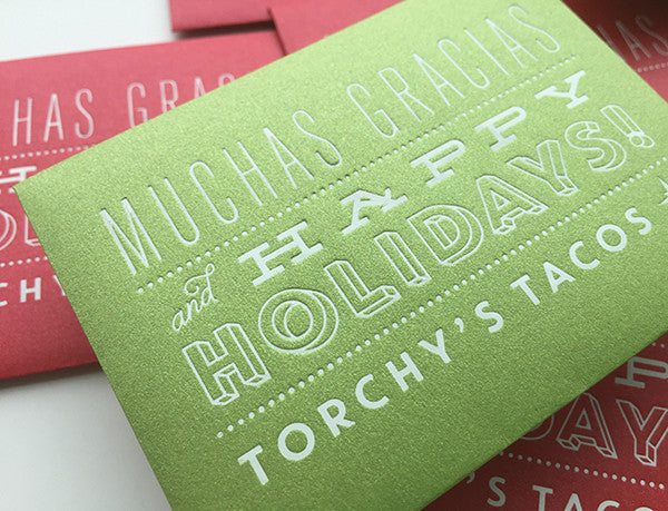 torchy's tacos holiday gift card envelopes