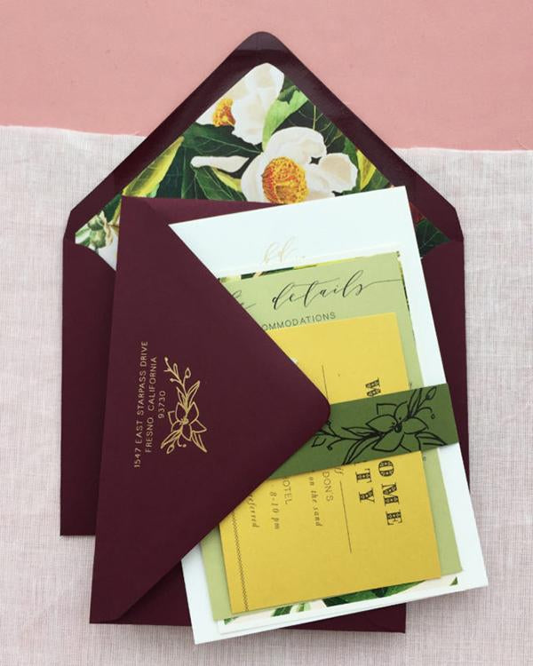 Tulum Destination Wedding Invitations