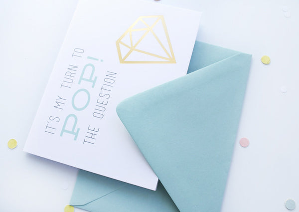 Pop the Question Bridesmaid Card