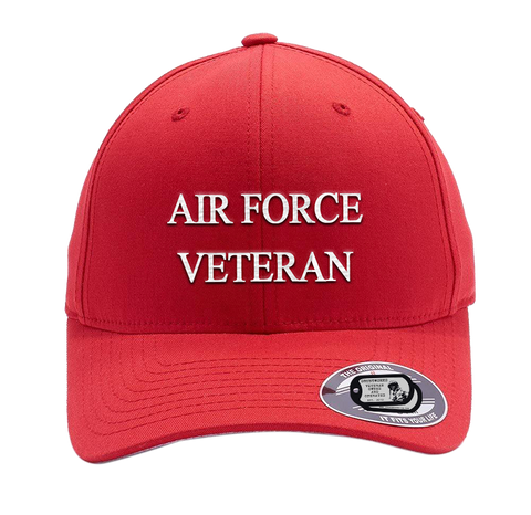 Bad Red Hat- Air Force Veteran