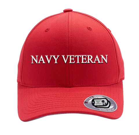 Image of Bad Red Hat-Navy Veteran