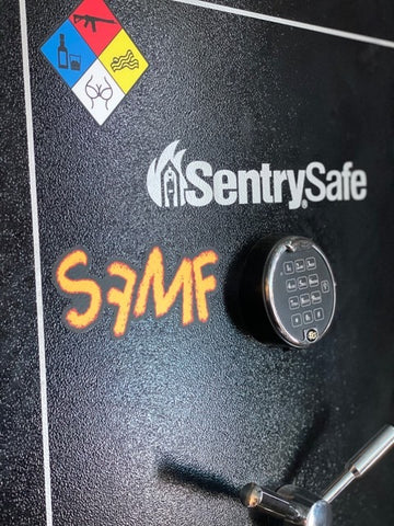 Image of SFMF CRAYON DIE CUT DECAL