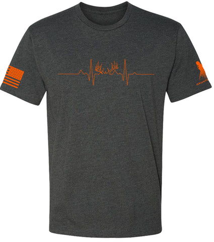 Image of Hunting Pulse-Antlers- Tee