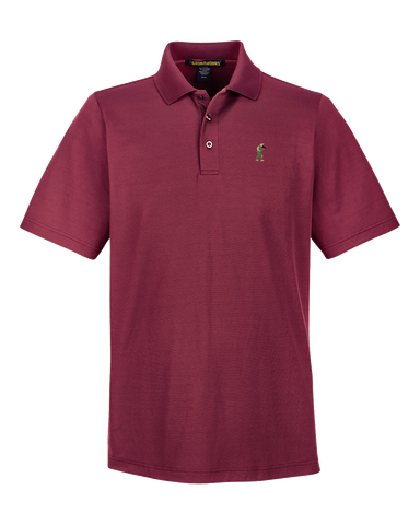 Image of Performance-Fit TactiPolo - Burgundy