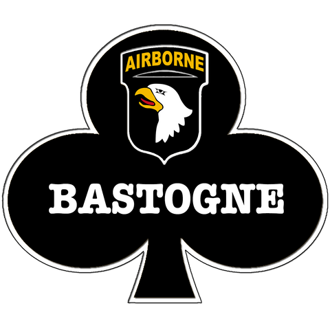 "Bastogne Full Color 4"" Cut Vinyl Decal"