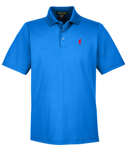 Image of Performance-Fit TactiPolo -Cool Blue