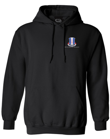 Image of 187 Infantry Crest Embroidered Hoodie