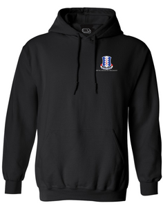 187 Infantry Crest Embroidered Hoodie