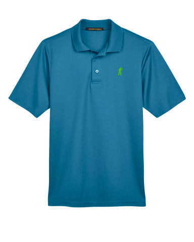 Image of Performance-Fit TactiPolo - Teal