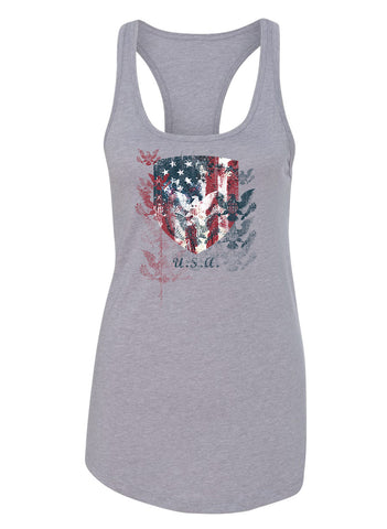 Freedom Shield -Women's Racer Back