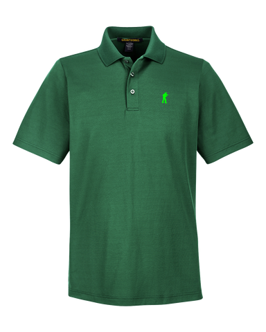 Image of Performance-Fit TactiPolo - Forest Green