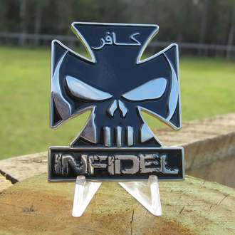 INFIDEL IV CHALLENGE COIN