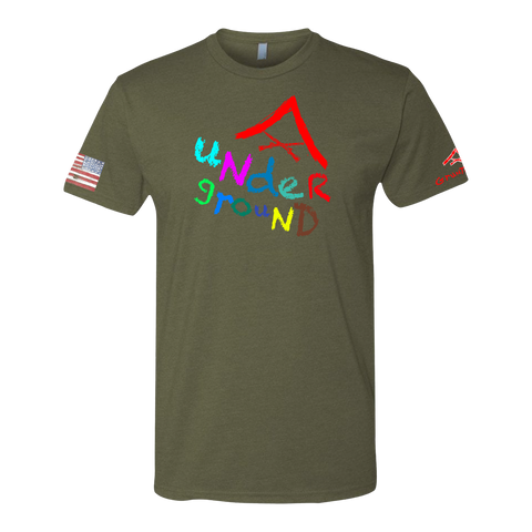 Image of LCPL UNDERGROUND Crayon Shirt (OD OR CHARCOAL GRAY)