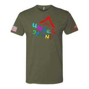 LCPL UNDERGROUND Crayon Shirt (OD OR CHARCOAL GRAY)
