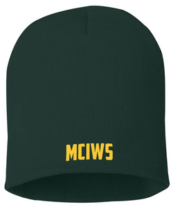 Marine Combat/ Corps Instructor of Water Survival ( M.C.I.W.S) Embroidered Beanie
