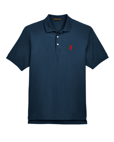 Image of Classic Mesh TactiPolo - Navy Blue