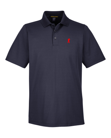 Image of Performance-Fit TactiPolo -Navy Blue