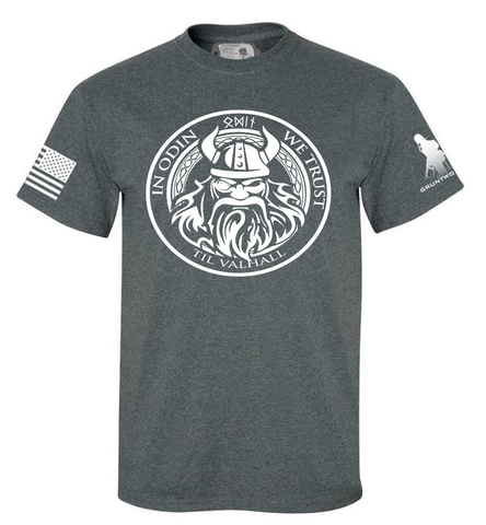 Image of IN ODIN WE TRUST - MENS T-SHIRT