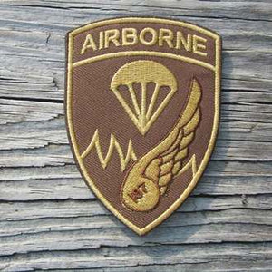 187TH ARCT EMBROIDERED PATCH (BROWN OR SAND)