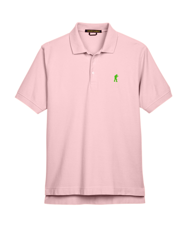 Classic Mesh TactiPolo - Pink