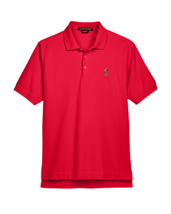 Classic Mesh TactiPolo - Red