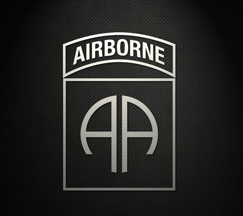 "82nd Airborne Division 5"" Cut Vinyl Decal"