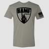 BAMF logo shirt (Gray/Black)