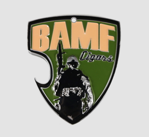 BAMF- BAD ASS CHALLENGE COIN/BOTTLE OPENER/KEYCHAIN, *****SUBDUED AND BLUE LINE SOLD OUT 4/24/18*****