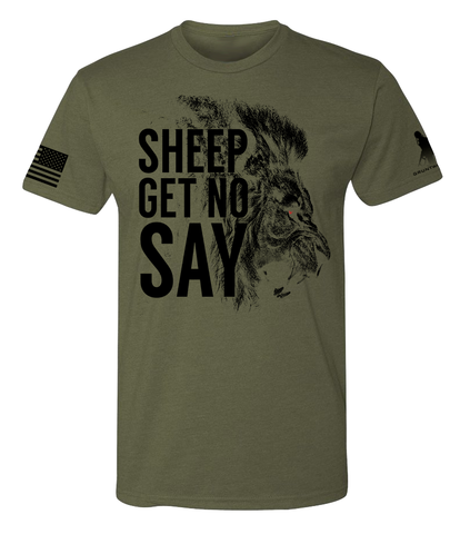 Image of Sheep Gets No Say Men's Shirt